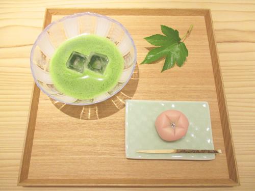 白緑(びゃくろく) 冷抹茶