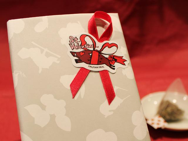 <直営店舗限定>クタニシール 季節のシール バレンタイン