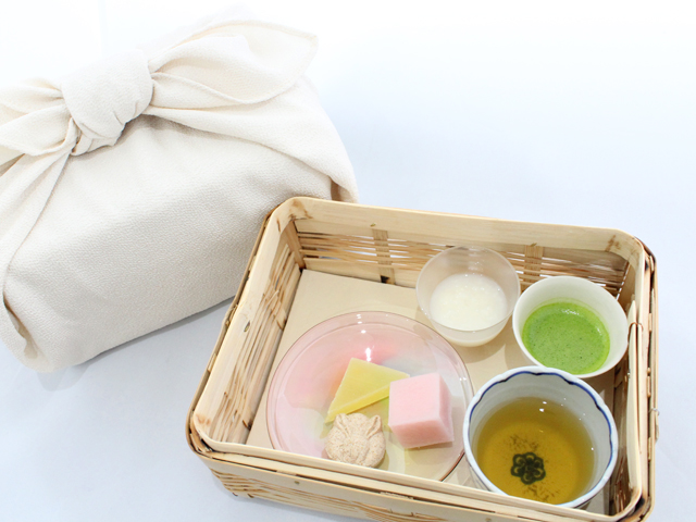 遊山箱―甘酒とお茶―